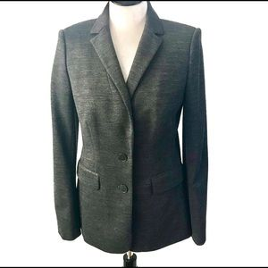 Ann Taylor Two Button Long Sleeves Career Blazer